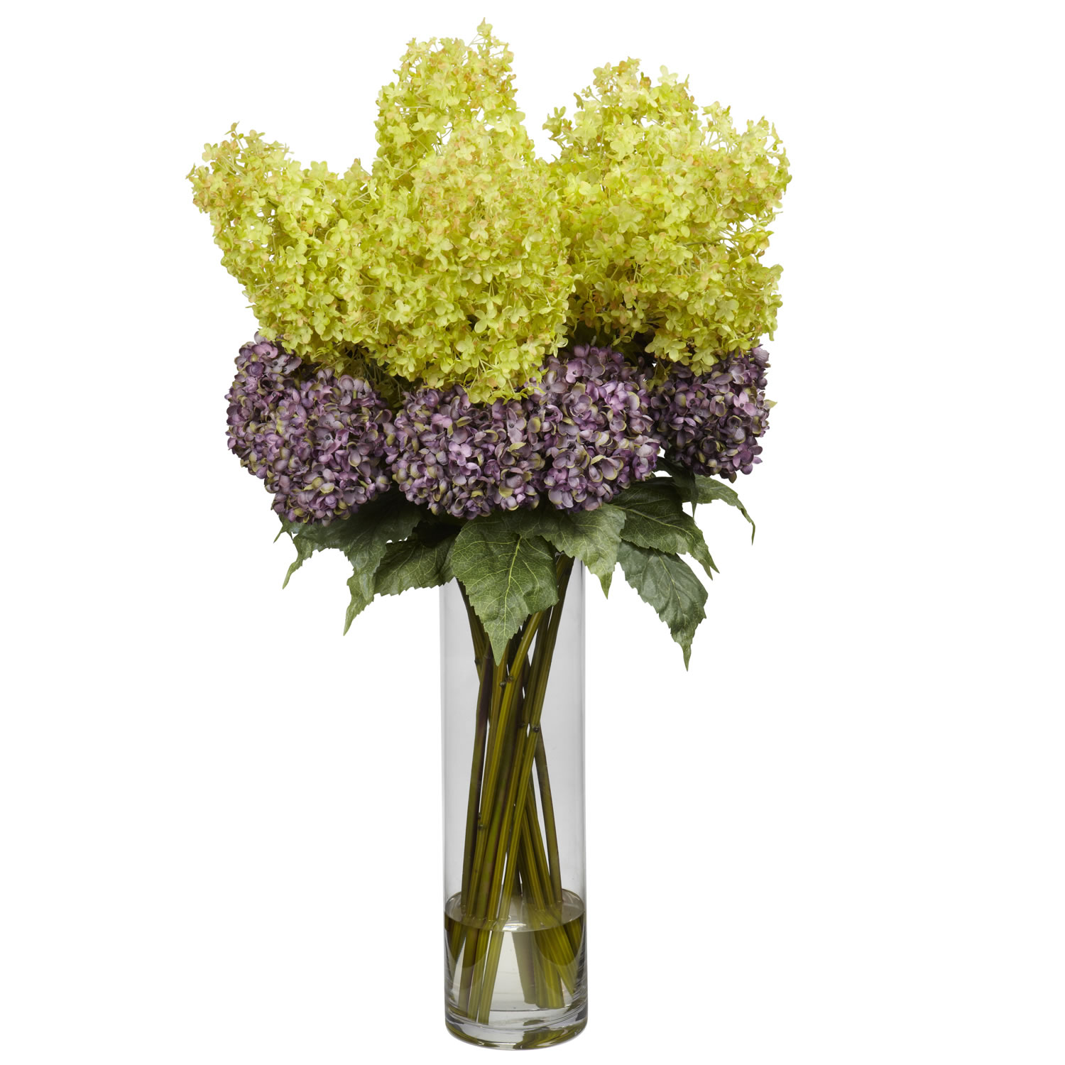 Design Giant Mixed Hydrangea Silk Arrangement Product Photo