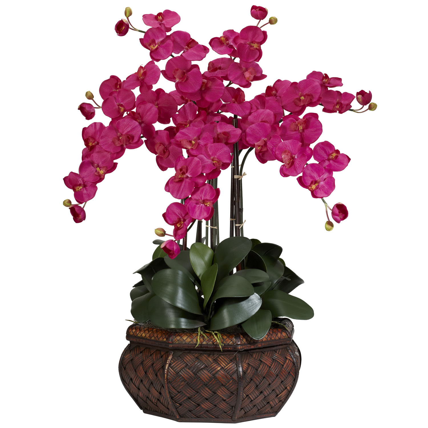 Large phalaenopsis orchid silk flower arrangement 1201 closeup image mightylinksfo Image collections