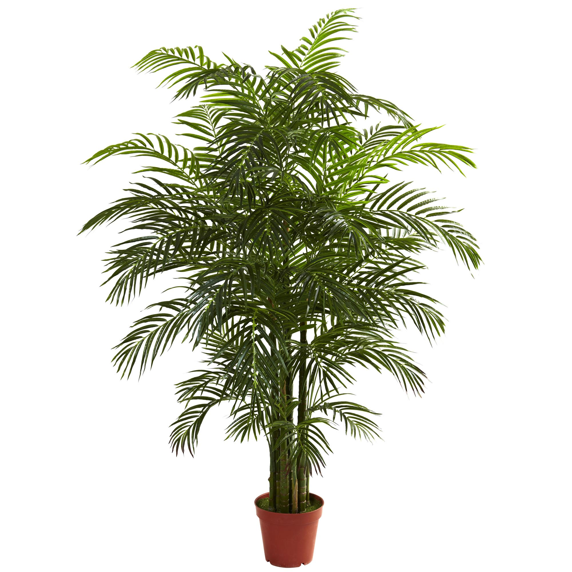 6.5 foot Outdoor Artificial Areca Palm: Limited UV 5390