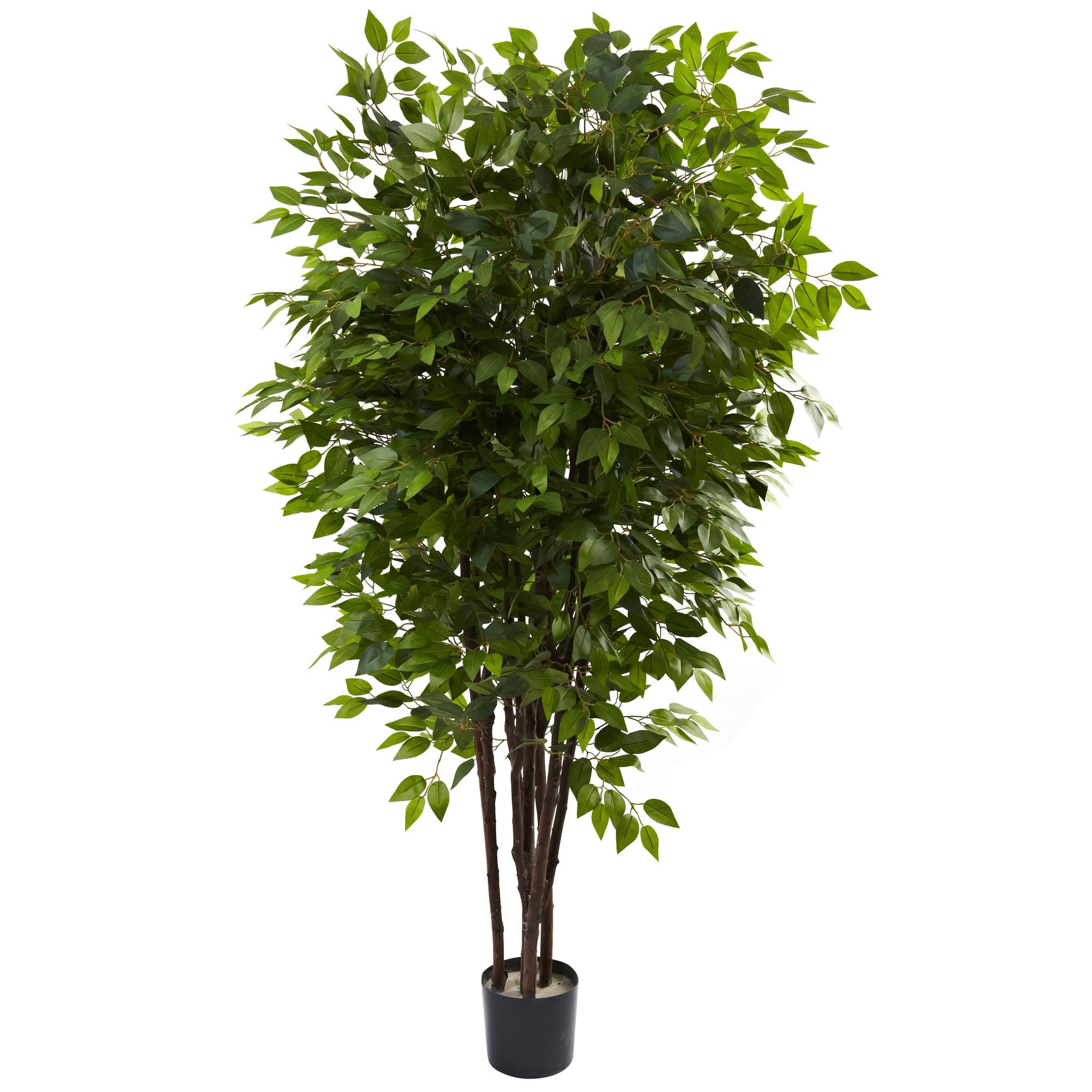 Stunning Artificial Deluxe Ficus Tree Potted Product Photo