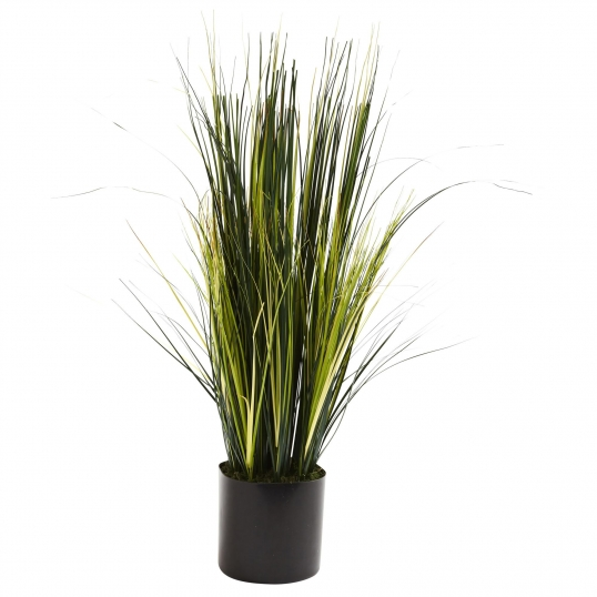 3 foot artificial onion grass plant: potted | 6766 3 Ft Artificial Plants