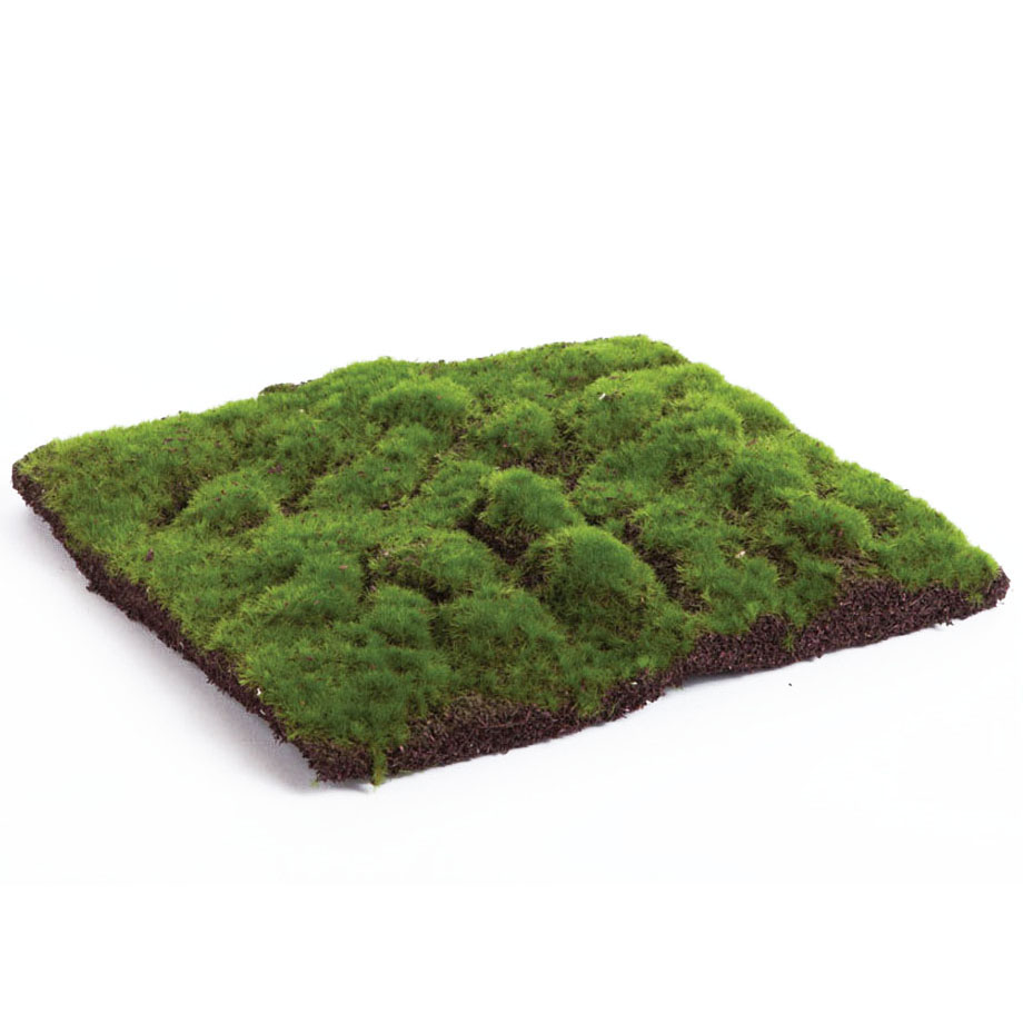 12 x 12 inch Artificial Forest Green Moss Pad DI2011