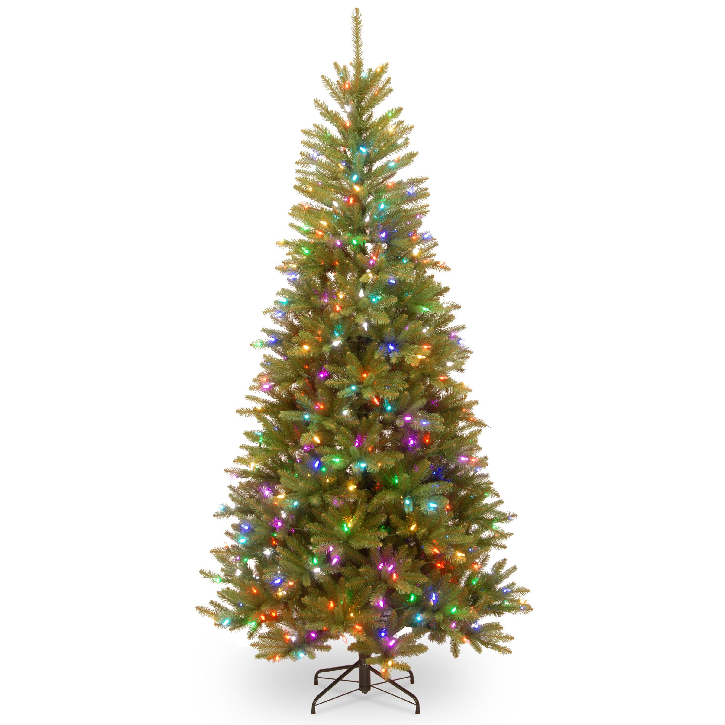 Choose Pe Pvc Dunhill Fir Mixed Slim Tree Function Parade Leds 11 2450