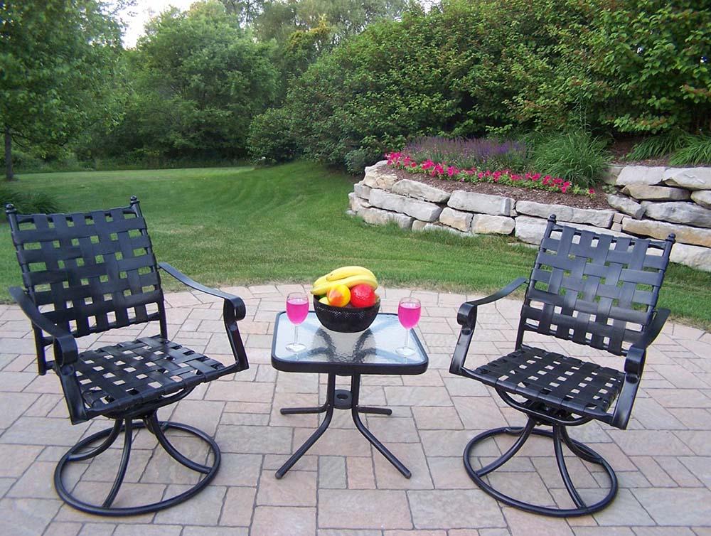 Choose Swivel Arm Chair Chat Set 12 2485
