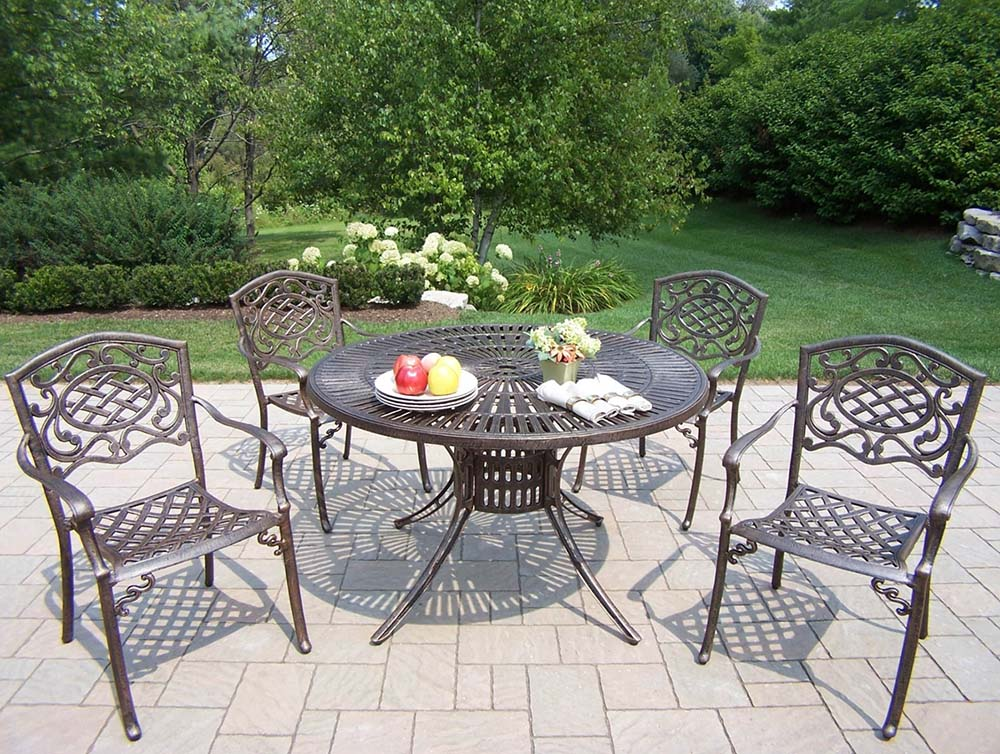 Exquisite Sunray Mississippi Patio Dining Set Product Photo