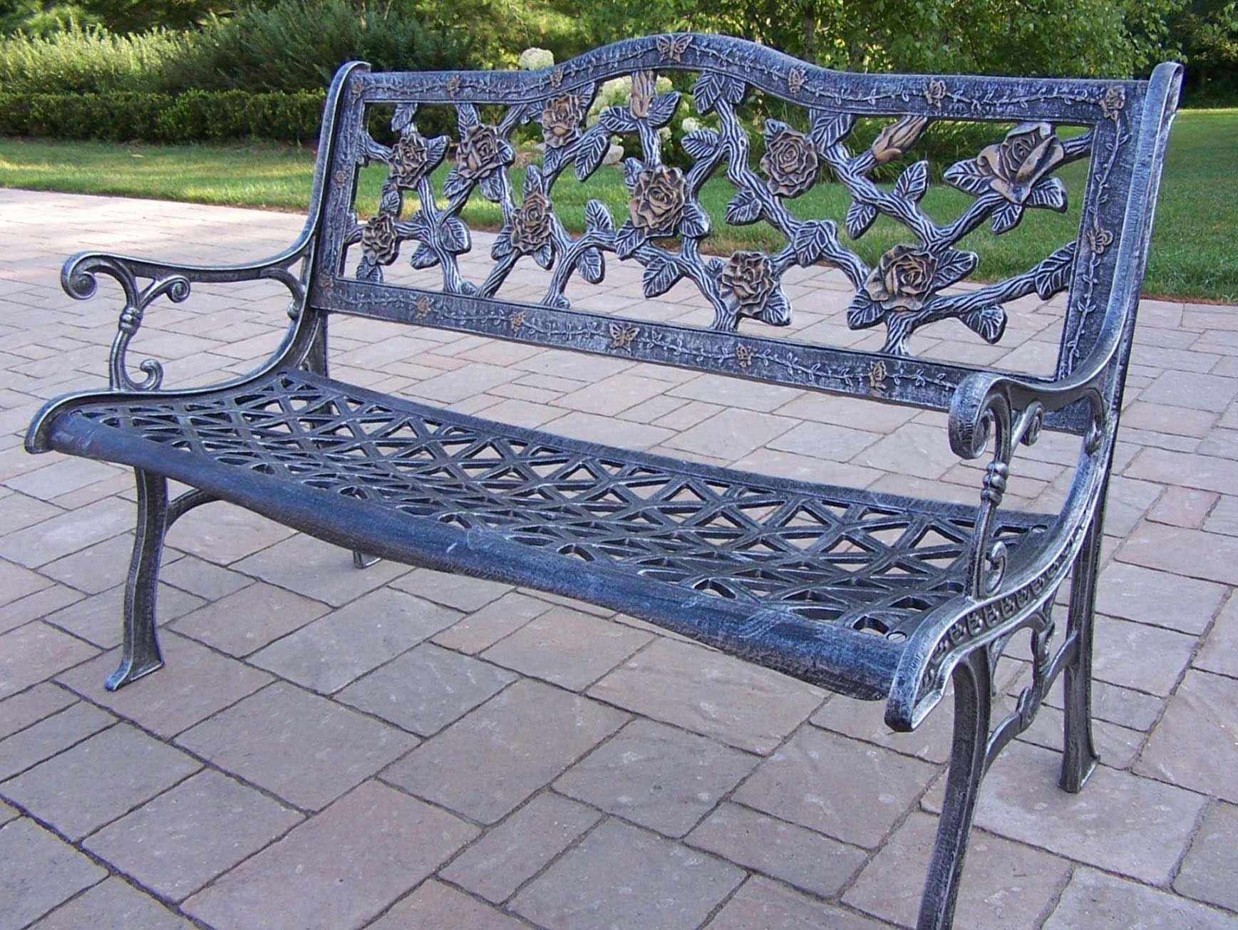 Cast Aluminum Cast Aluminum Garden Bench