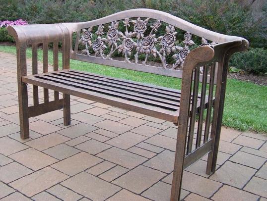 Aluminum Garden Bench