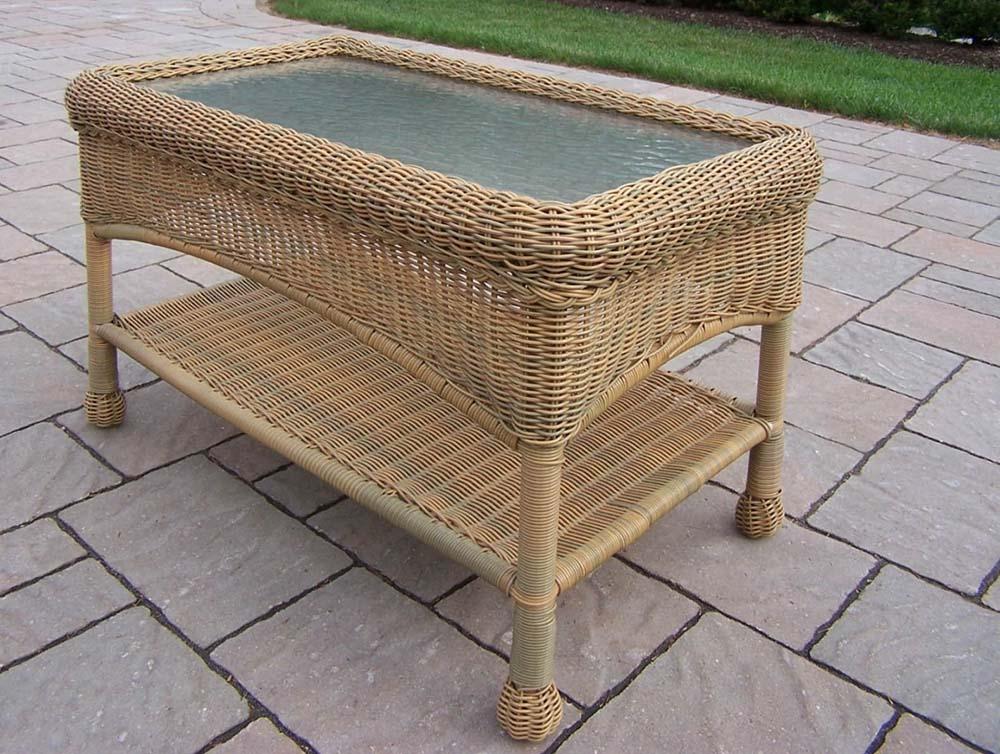 Rectangular   Honey   Table