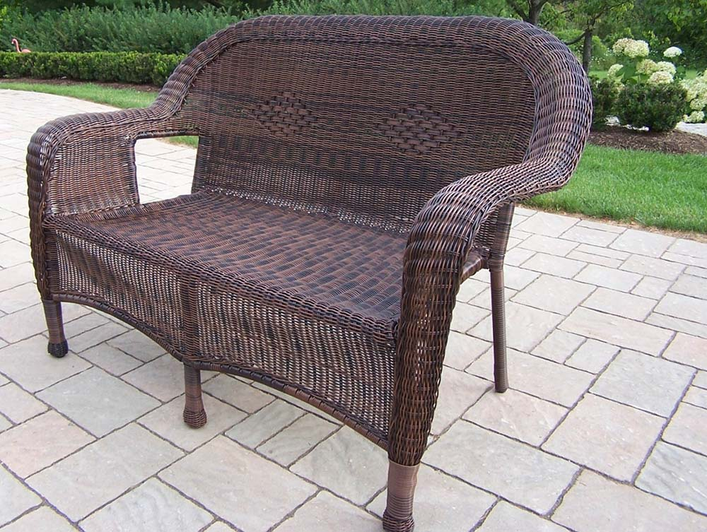 Select Resin-Wicker-Outdoor-Loveseat-Coffee Product Picture 1107
