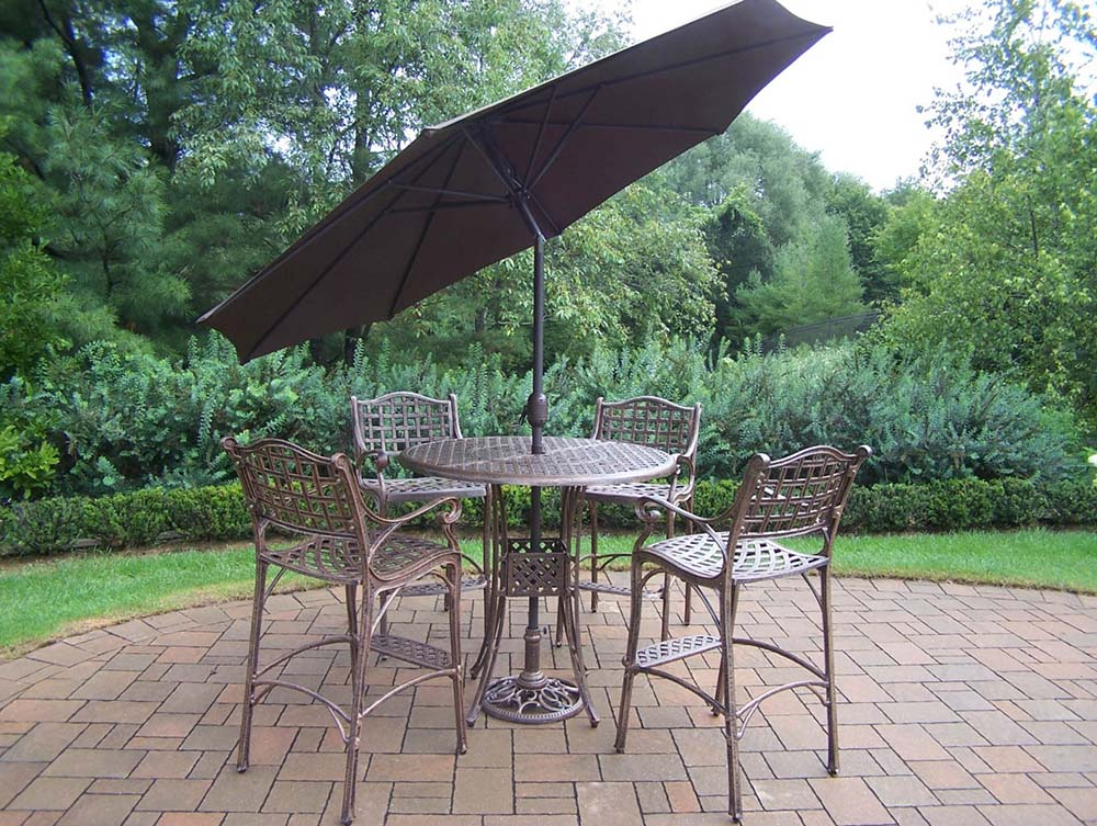 Umbrella | Stand | Brown | Table | Bar