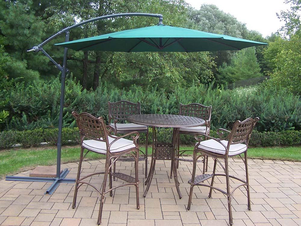 Precious Elite Bar Set Table Cushions Umbrella Product Photo