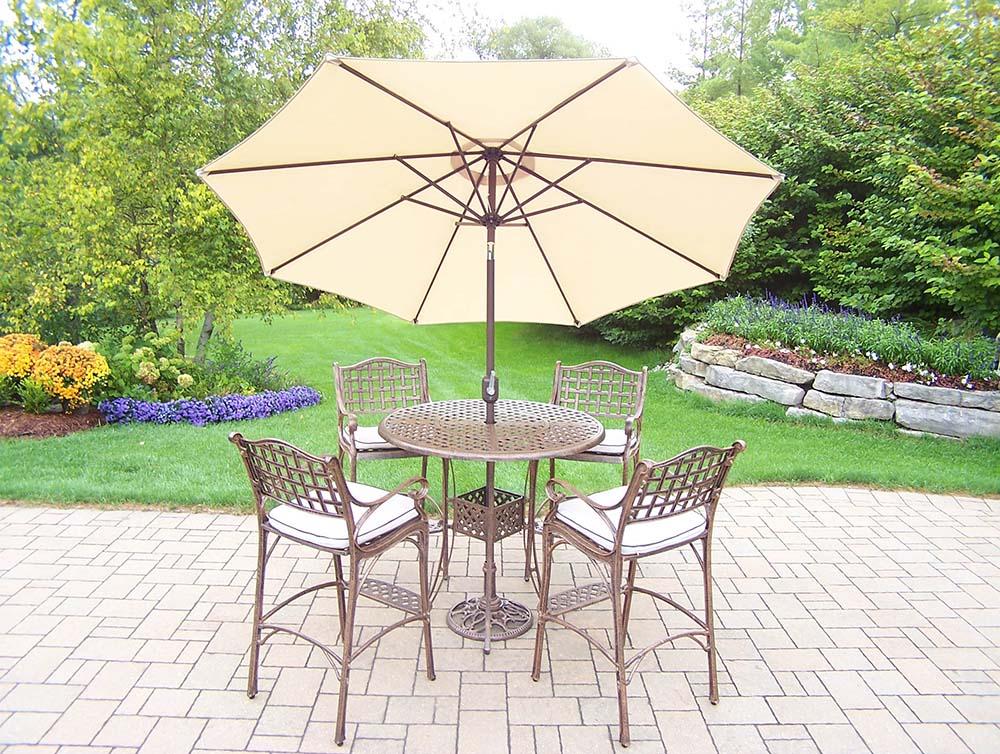 Excellent Elite Bar Set Umbrella Cushions Product Photo