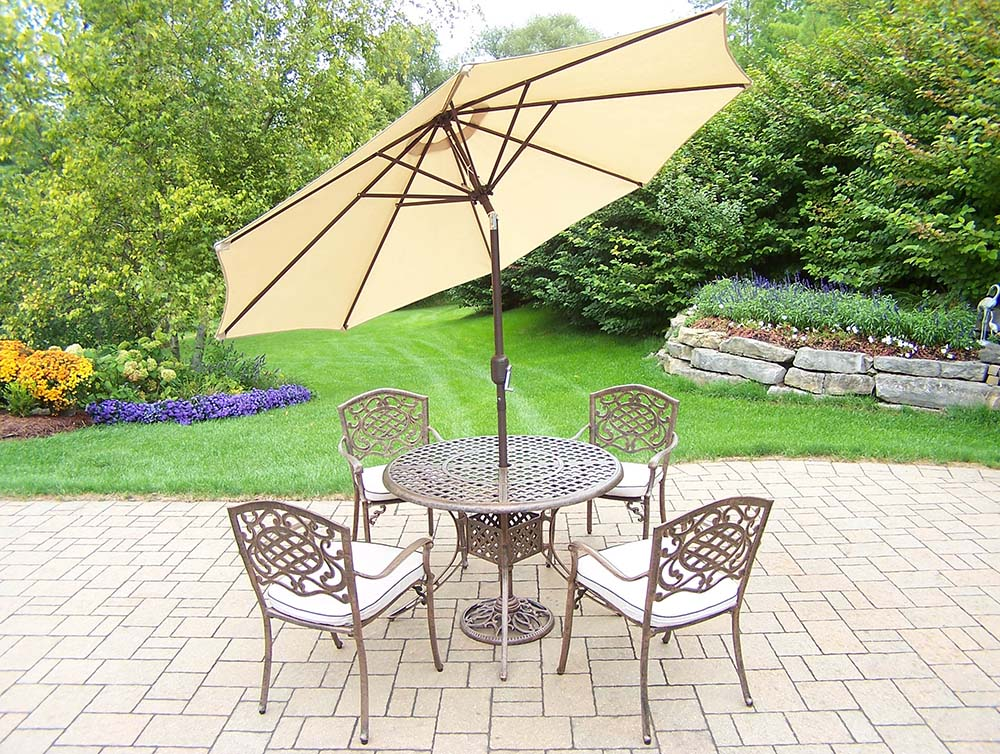 Beautiful Mississippi Set Stackable Chairs Umbrella Product Photo