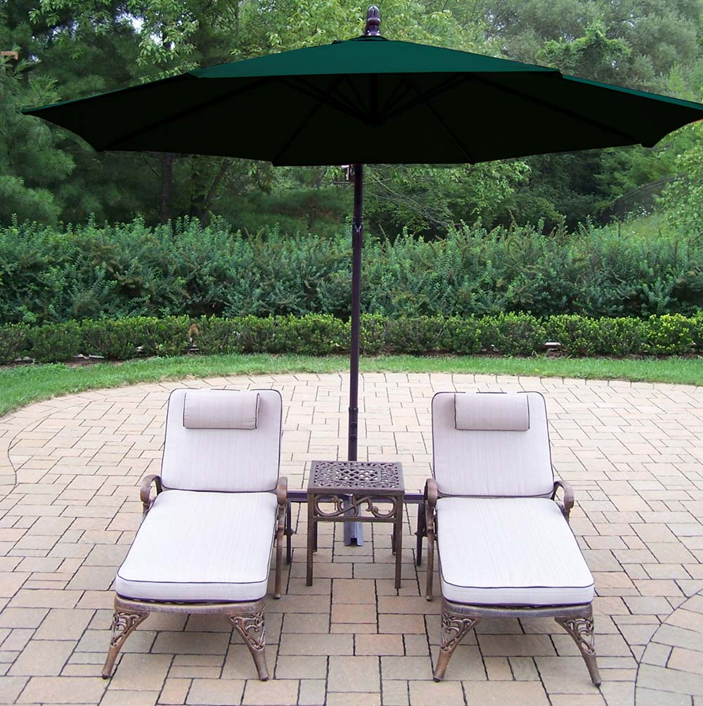 Best-selling Elite Chaise Lounges Side Table Cantilever Umbrella 6 865