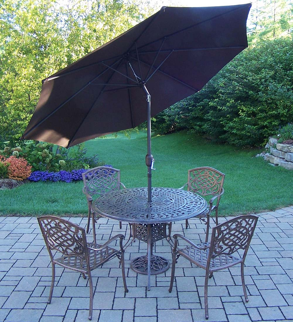 Select Mississippi Set Table Stackable Chairs Umbrella 13 324