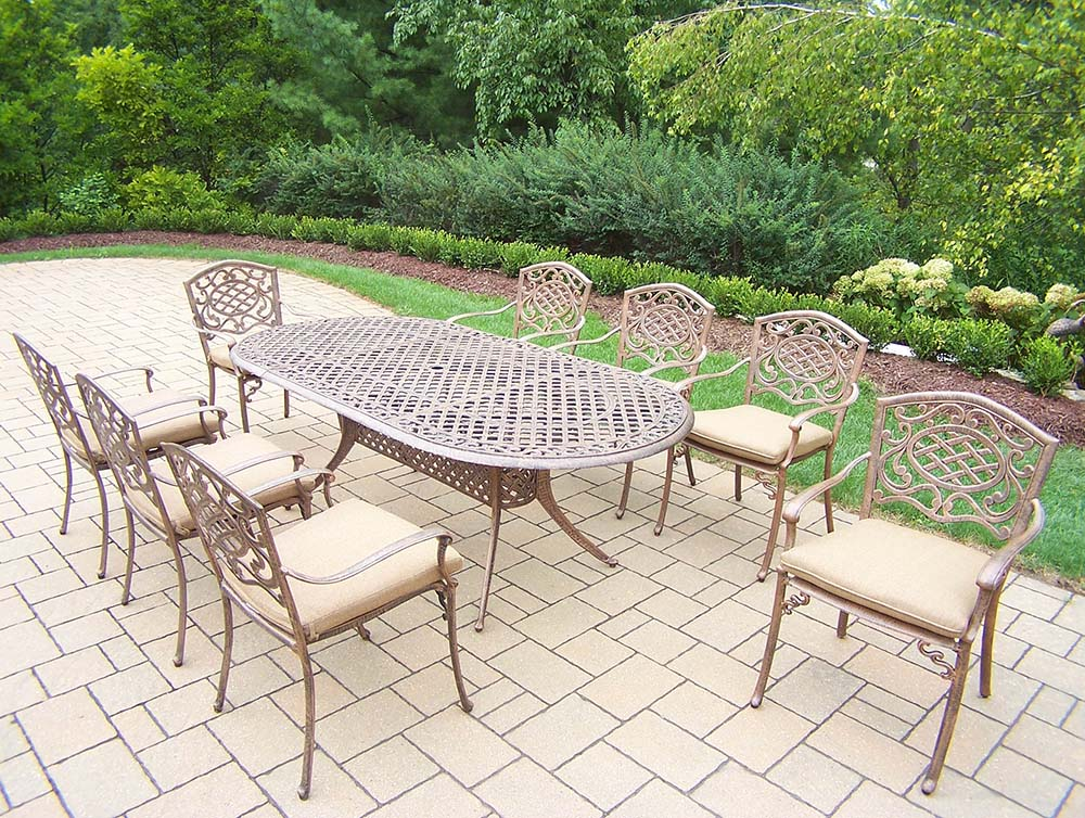 Outstanding Mississippi Dining Set Table Chairs Cushions Product Photo
