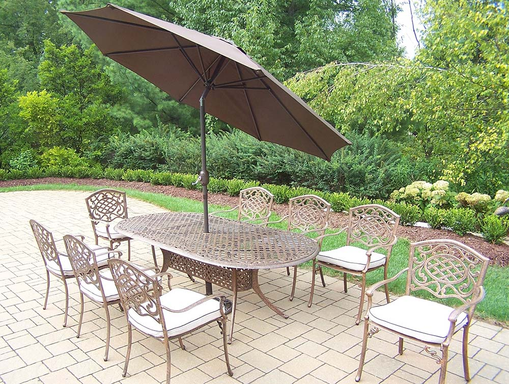 Lovable Mississippi Set Table Umbrella Chairs Product Photo