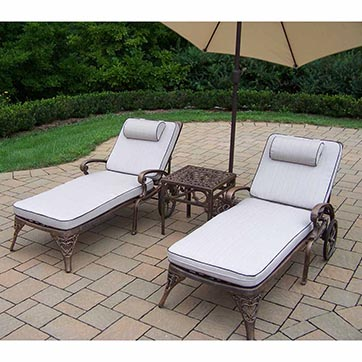 The best cast aluminum patio furniture of 2017 top rated for Best rated patio furniture