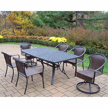The best patio dining sets of 2017 top rated patio for Best rated patio furniture