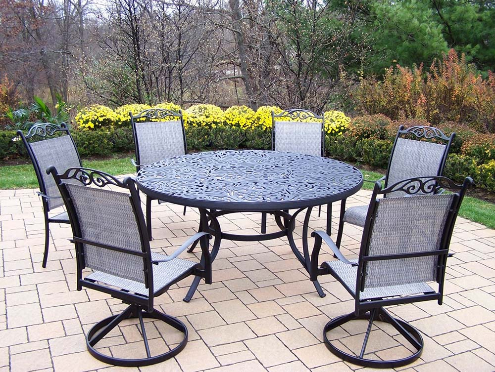 Search Mississippi Cascade Sling Dining Set Table Product Photo