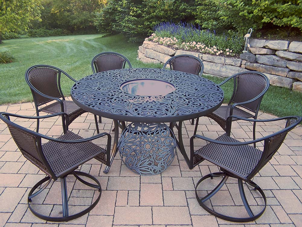 Set Table Chairs Swivel Chairs Ice Bucket 272