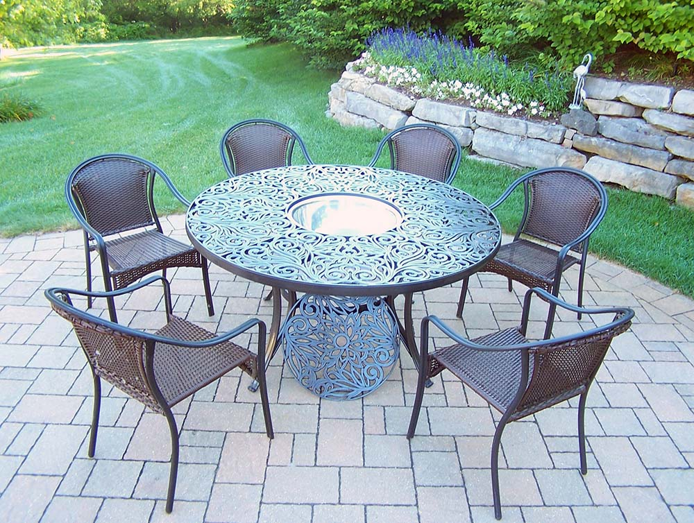 Select Set-Table-Stackable-Chairs-Steel-Ice-Bucket Product Picture 174