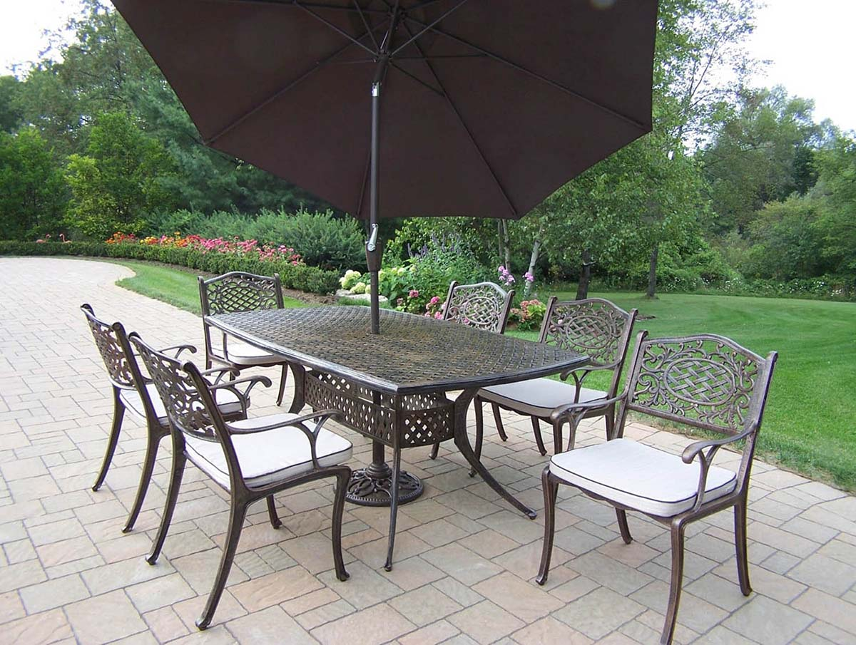 User friendly Mississippi Set Table Cushions Chairs Umbrella Product Photo