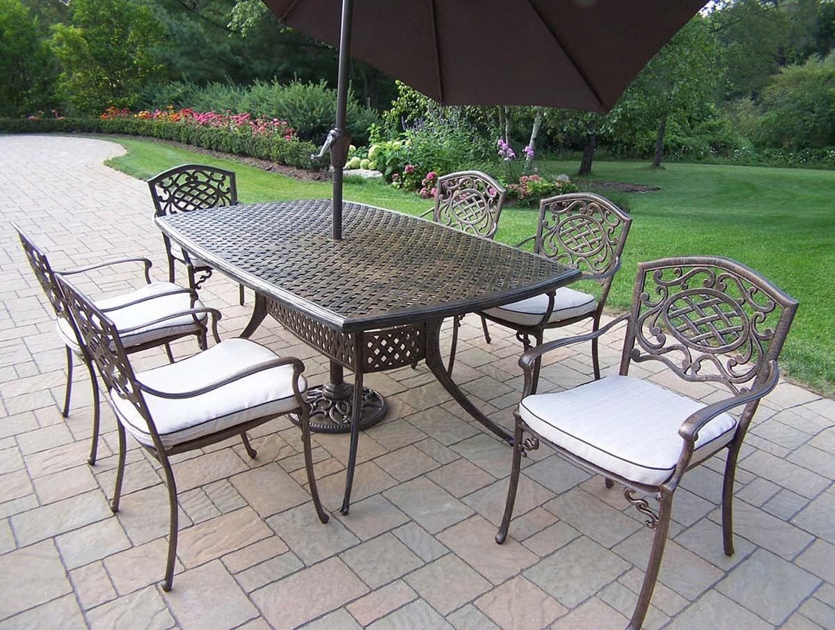 Outstanding Mississippi Set Chairs Table Cushions Umbrella Product Photo
