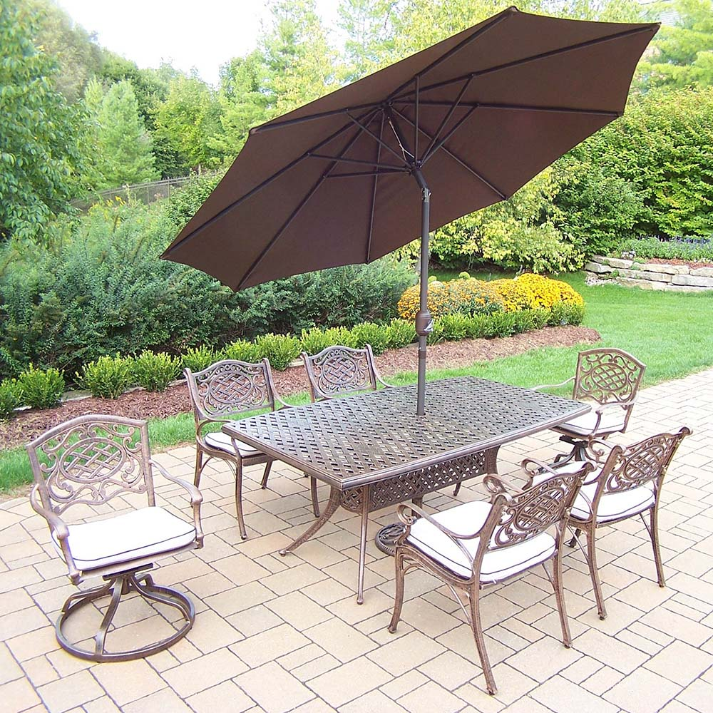 Money saving Mississippi Set Table Umbrella Chairs Rockers Product Photo