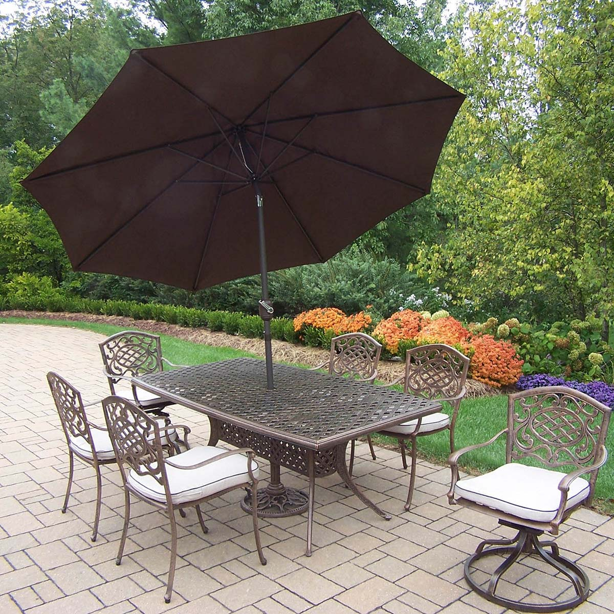 Tasteful Mississippi Set Table Chairs Rockers Umbrella Product Photo