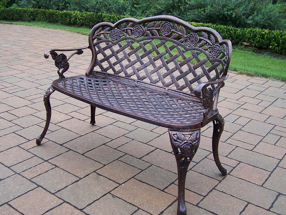 Select Antique-Bronze-Rose-Loveseat Product Picture 923