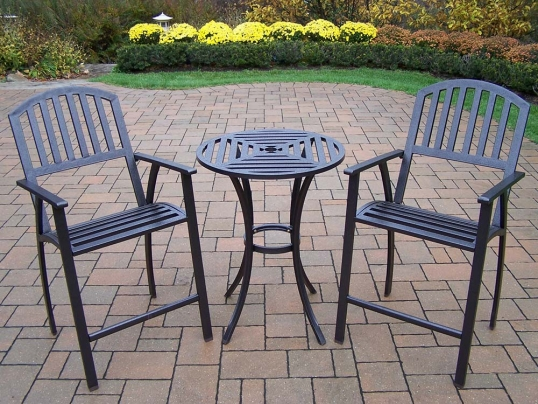 7169310bdbfb Slim Logo  Hammer Tone Bronze Rochester 3pc Bar Set