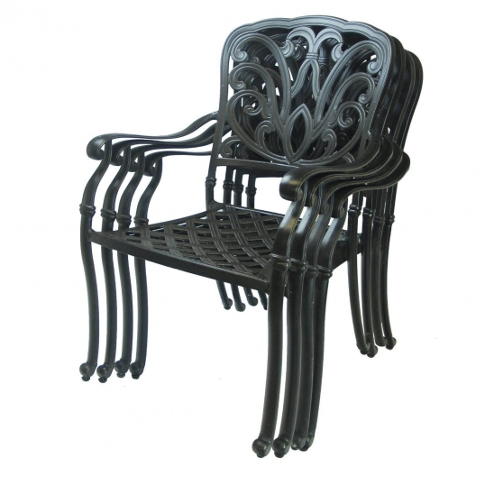 slim logo hampton stackable chairs without cushion set of 4