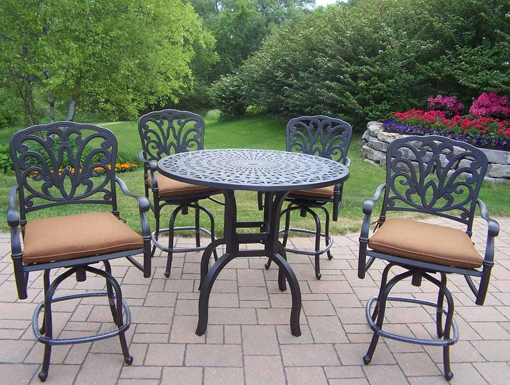 Trustworthy Antique Hampton Bar Set Cushions Product Photo