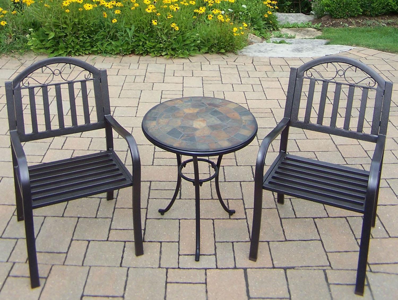 Ultimate Stone Art Rochester Bistro Set 11 2402