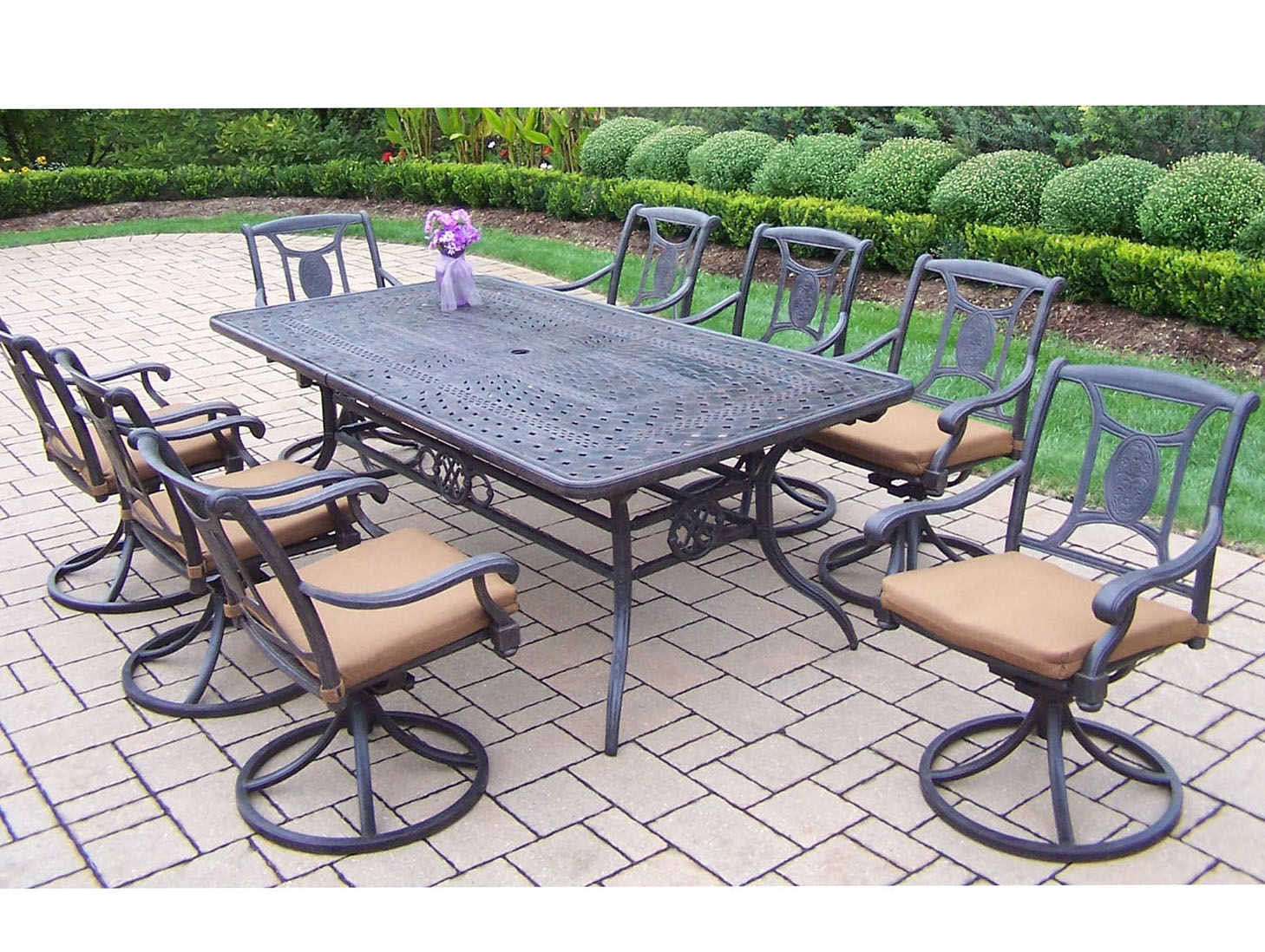 Purchase Victoria Aged Dining Set Extendable Table Product Photo