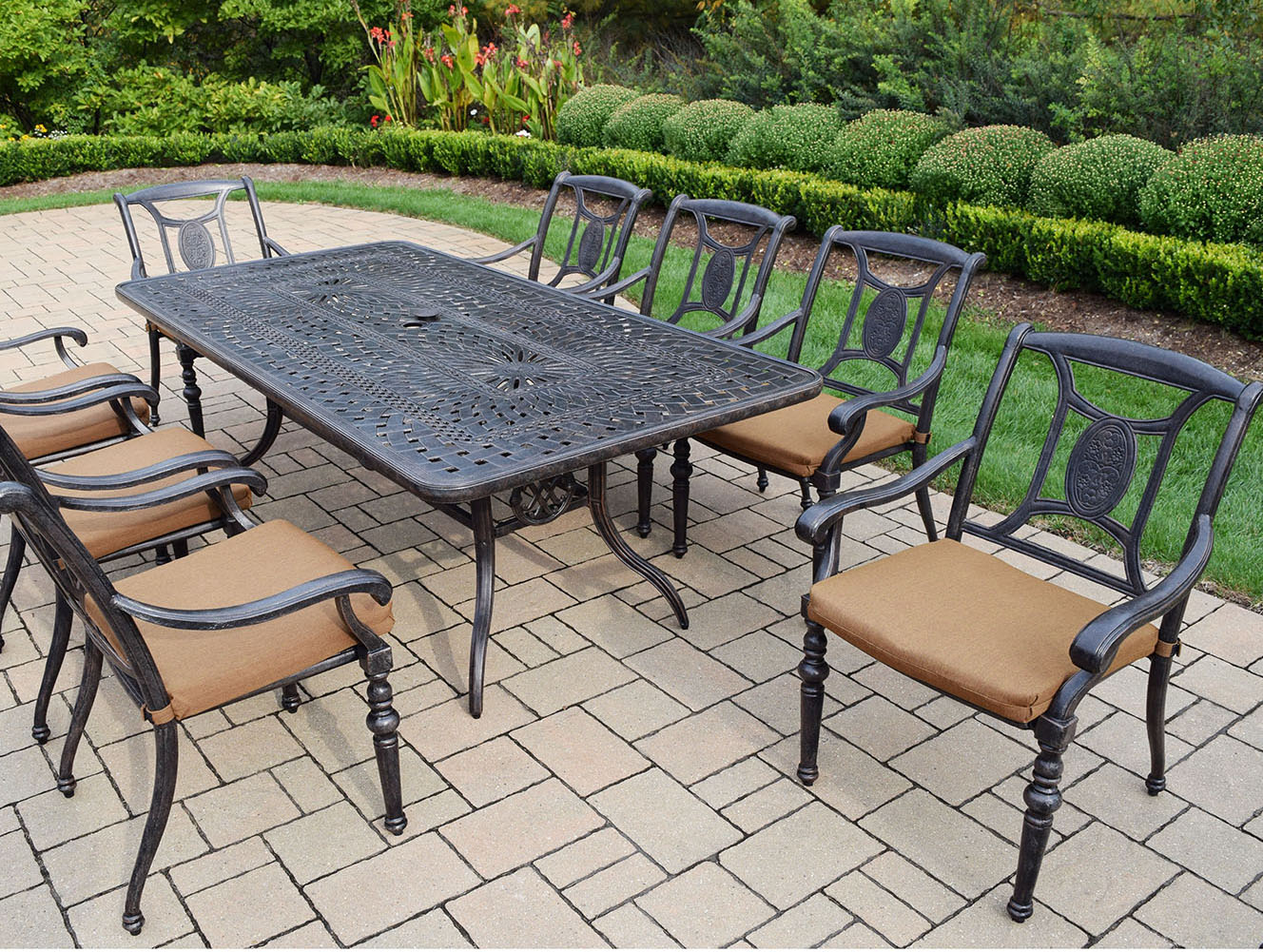 Purchase Victoria Patio Dining Set Table Product Photo