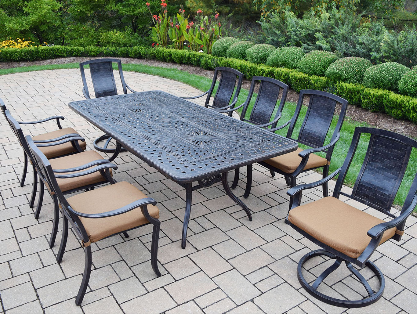 Purchase Vanguard Patio Dining Set Table Product Photo