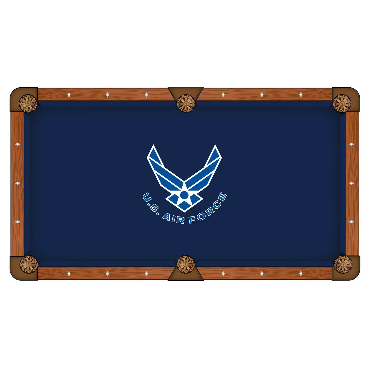 Information about United States Air Force Pool Table Cloth Product Photo
