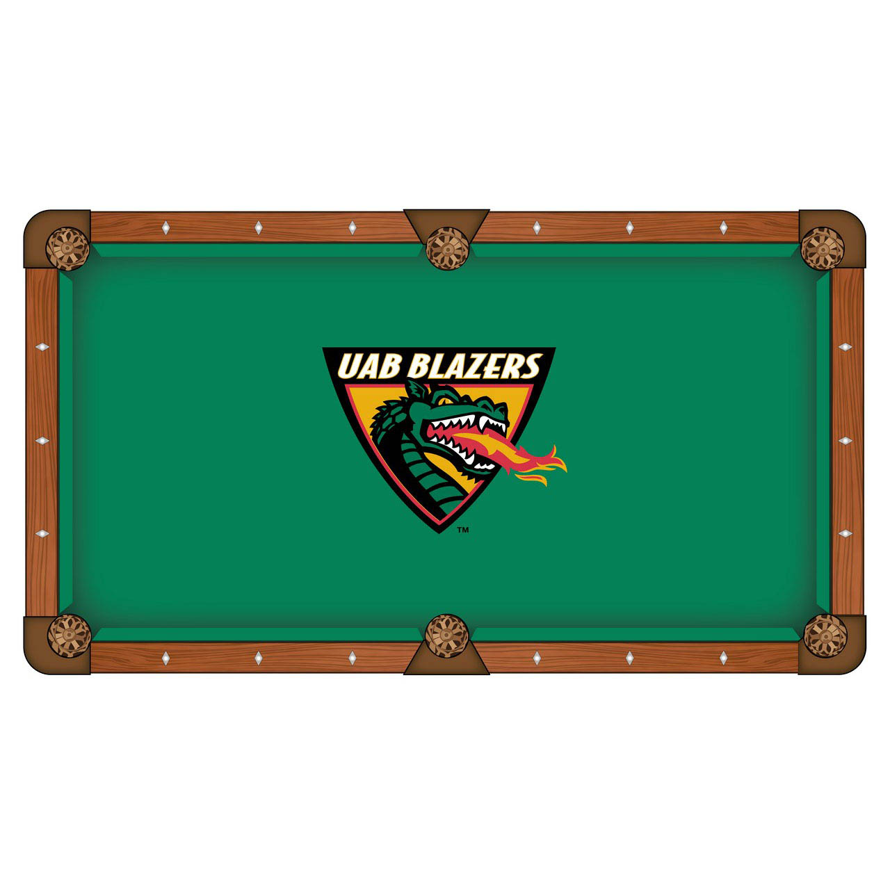 Unique University Alabama At Birmingham Pool Table Cloth Product Photo