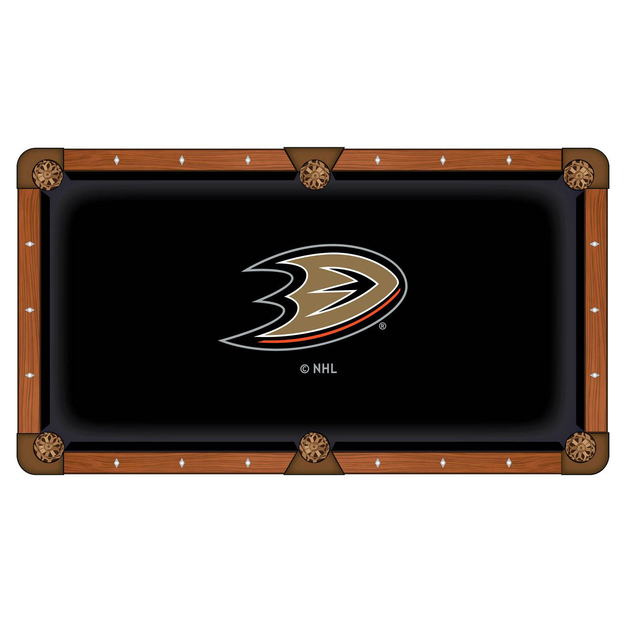 Choose Anaheim Ducks Pool Table Cloth Product Photo