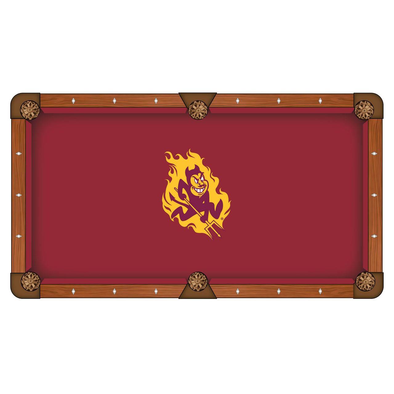 Amazing Arizona State University Pool Table Cloth Product Photo