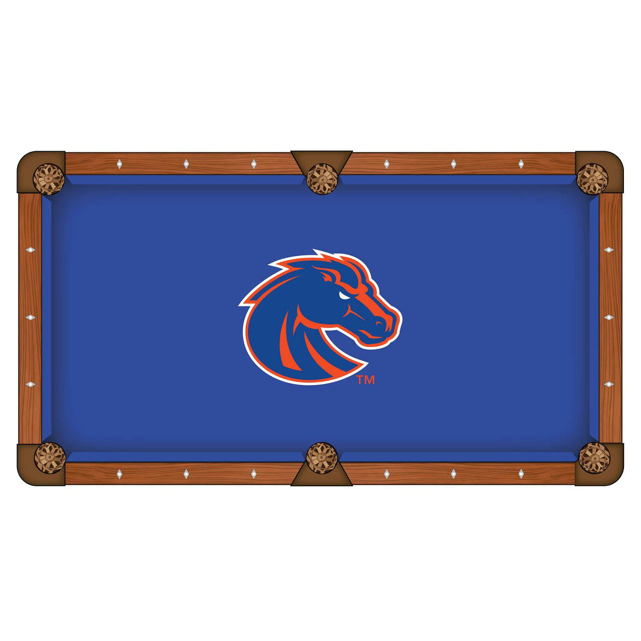 Affordable Boise State University Pool Table Cloth Product Photo