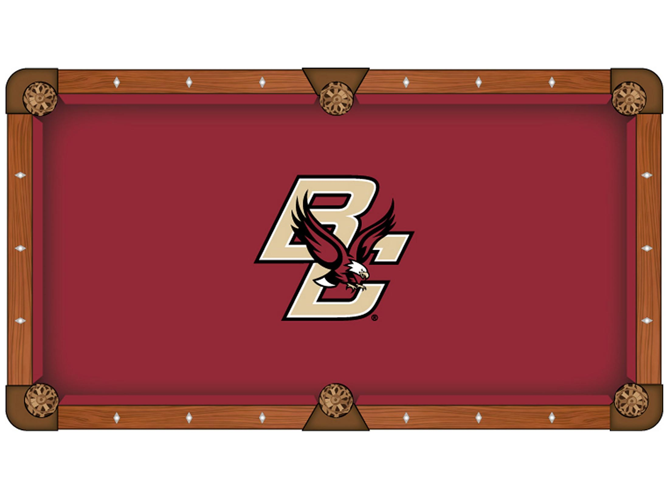 Superb Boston College Pool Table Cloth Product Photo