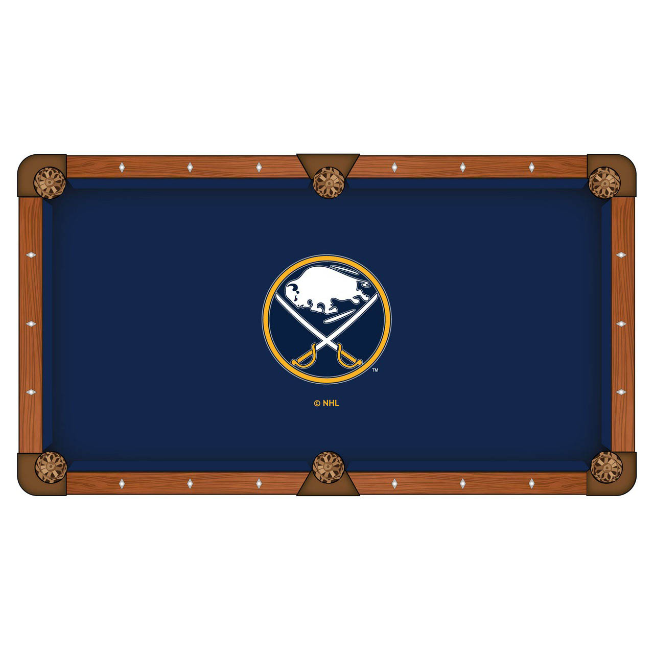 Special Buffalo Sabres Pool Table Cloth Product Photo