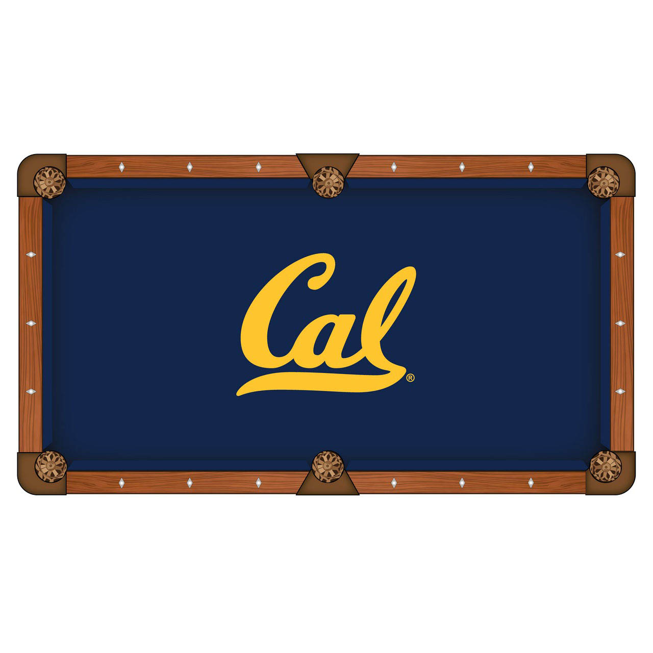 Choose University California Pool Table Cloth 1 1404