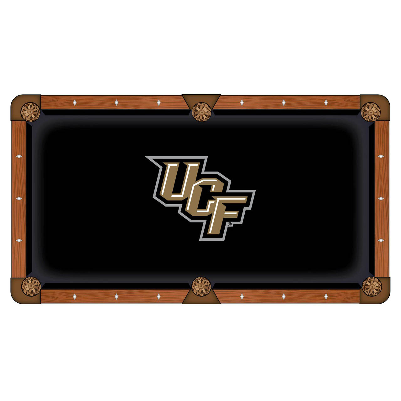 Choose University Central Florida Pool Table Cloth 6 1404