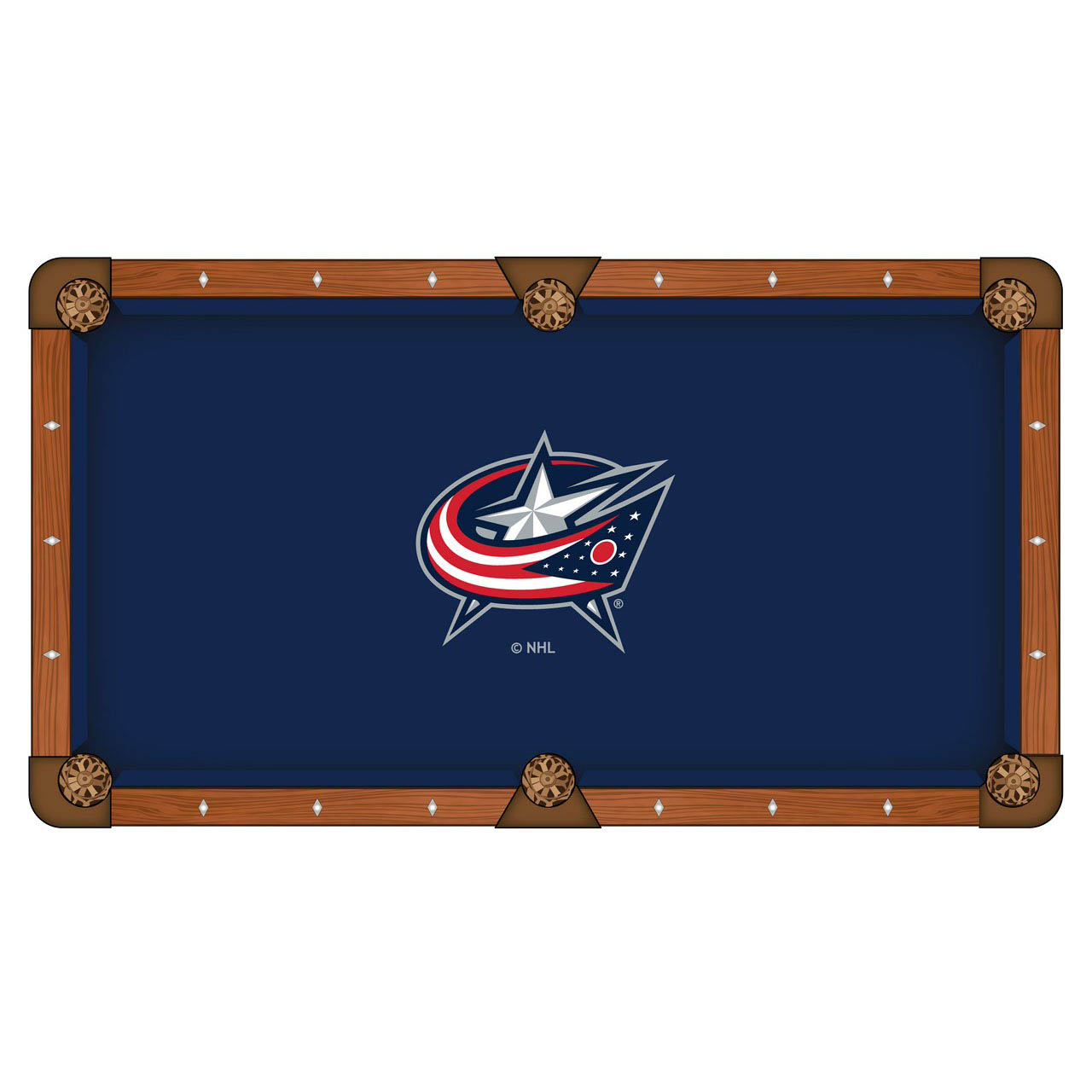New Columbus Jackets Pool Table Cloth Product Photo