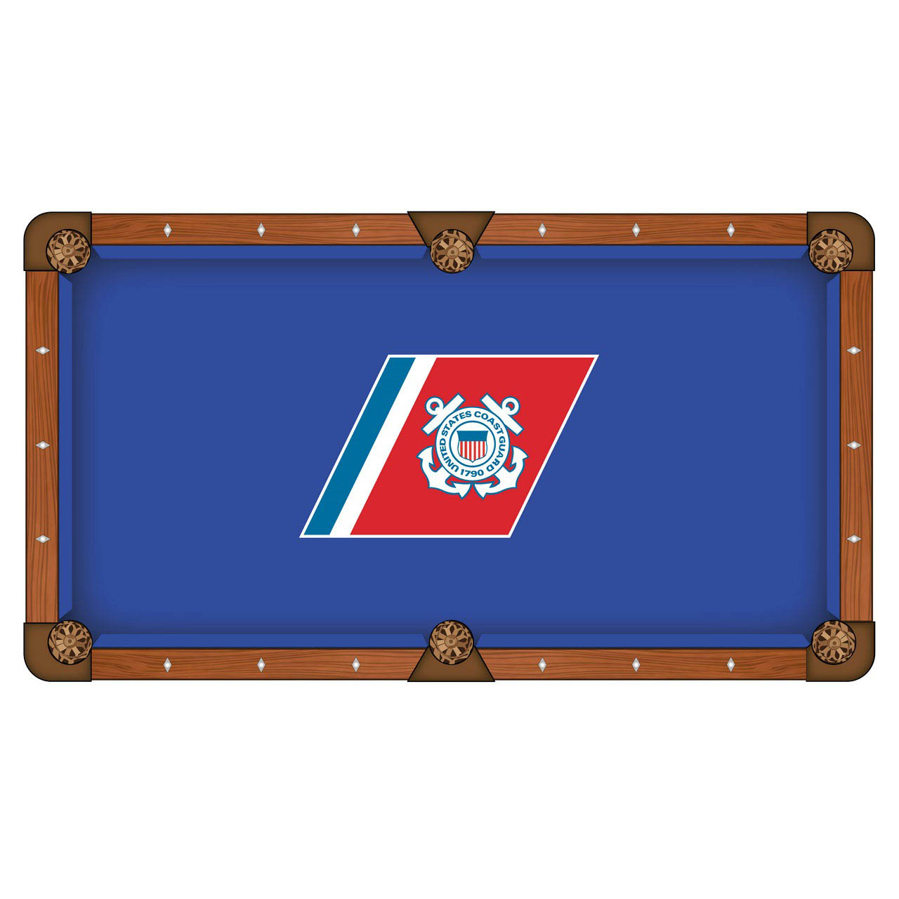 Stunning United-States-Coast-Guard-Pool-Table-Cloth Product Picture 578