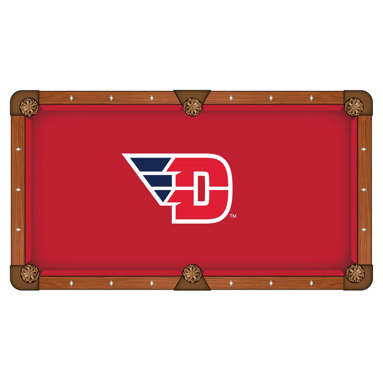 Learn more about University Dayton Pool Table Cloth Product Photo